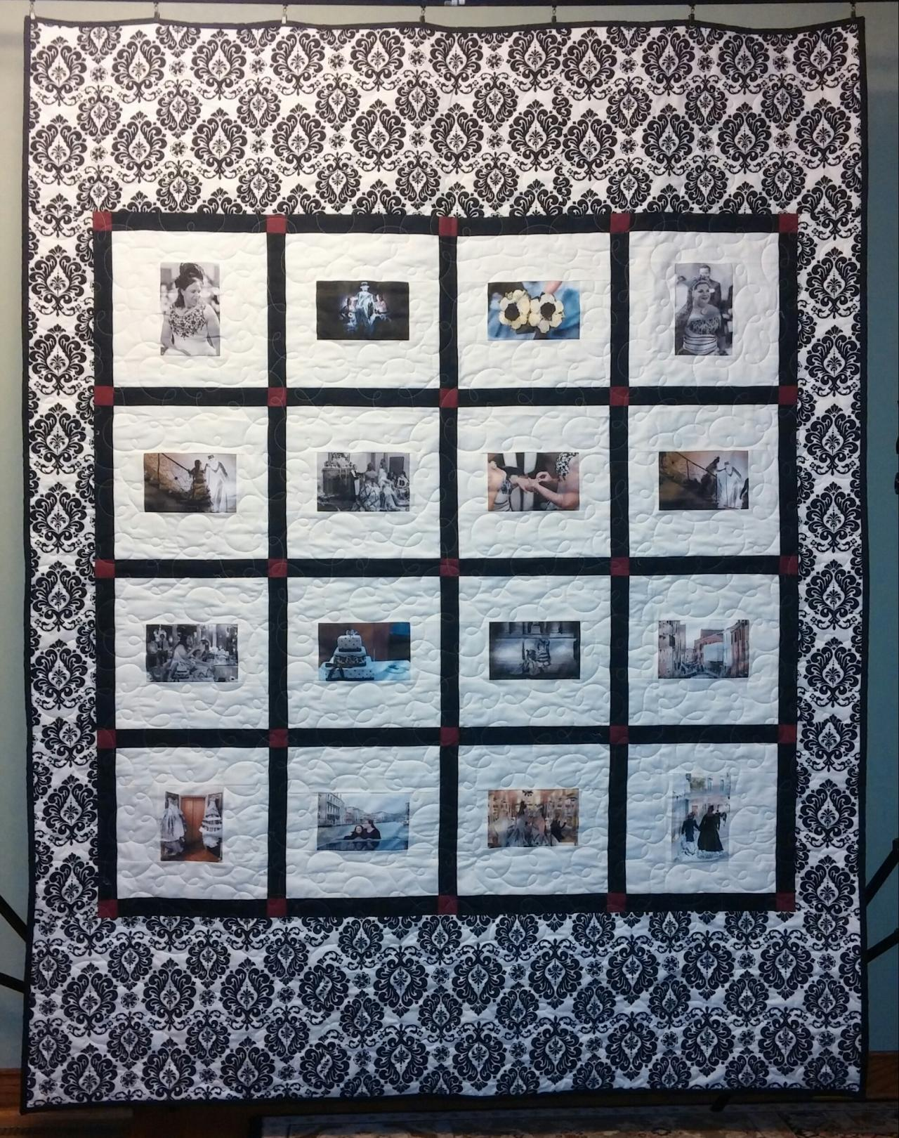 Custom Memory Quilts Wedding Amp Guest Book Quilts