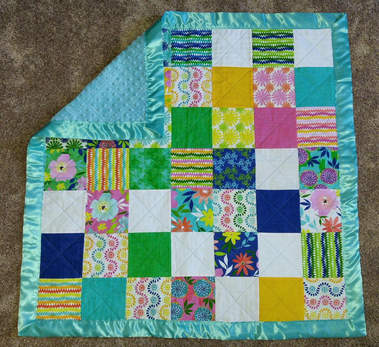 Custom Memory Quilts Baby Items