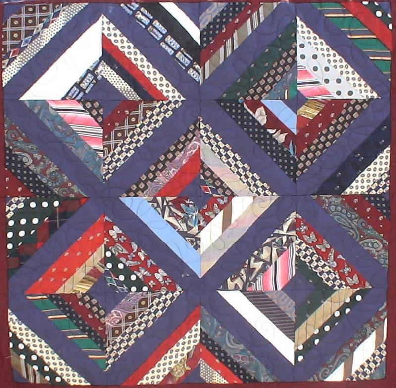 Necktie Quilting Patterns : feliz: Necktie Quilt